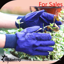 SRSAFETY great quality gloves for 2015 sales gardening gloves