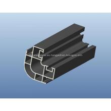 Perfil de aluminio extruido para comunicación electrónica