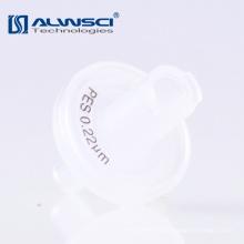 Consumíveis laboratoriais polipropileno 0.22um filtro de membrana PES com impressão