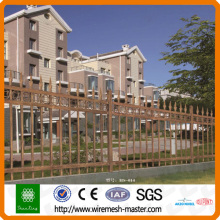 pvc coated zinc steel fence (professional factory )