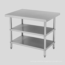 Ss304 316 Operation Table Stainless Steel Three Layers Two Layers Structure Sorting Table