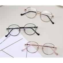 Дизайнерские металлические оптические оправы игровые очки с защитой от синего света