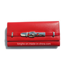 Newest Design Trendy Promotional Attractive Red Purse (ZX10133)