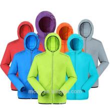 Outdoor Men Women's Jacket Fast Drying Anti-UV Waterproof Breathable Skin Jacket
