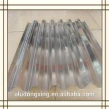 3003 H24 hoja de aluminio corrugado para el techo y muro cortina