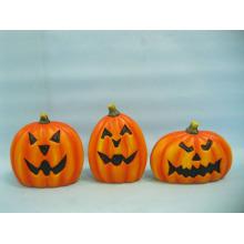 Calabaza de Halloween Arte y Artesanía de Cerámica (LOE2375-14)