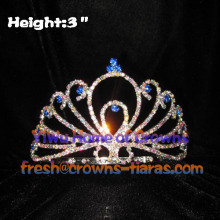 3 Zoll Strass Pageant Tiaras