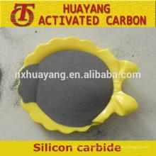 Schwarzes / grünes Silikon-Karbidpulver mit konkurrenzfähigem Preis