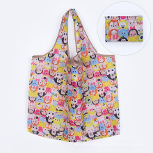Hot Selling Grocery Bags Reusable Foldable With Pouch Bulk Ripstop Waterproof Machine Washable Eco-friendly Nylon