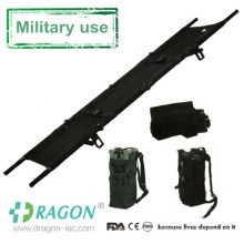 Medical use portable aluminum military four folding stretcher for sale
