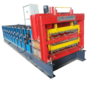Tiga Layer Light Gauge Steel Roll Forming Machine