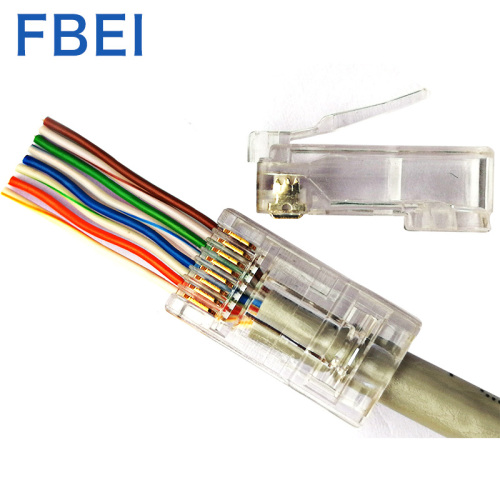 RJ45 EZ CAT5e-connector