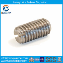 DIN438 Установочный винт из нержавеющей стали с наконечником