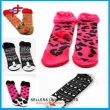 Kids Fashionable Animal Pretty Fur Slipper Socks