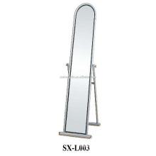 Bedroom Metal Dressing Mirror, Standing Floor Mirror for Sale