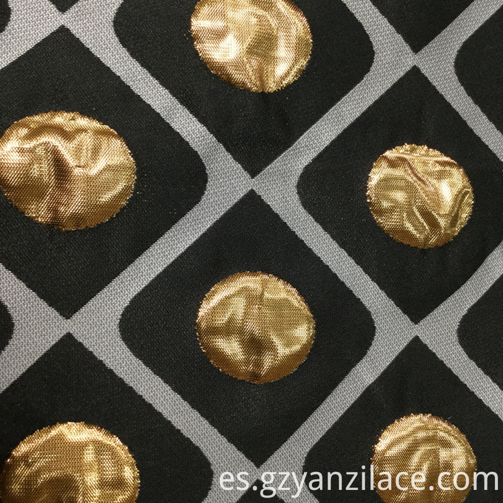 Gold Jacquard Fabric