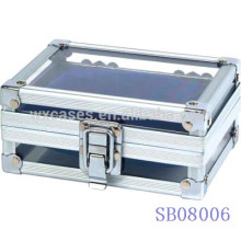aluminum watch boxes wholesale for 2 watches China manufacturer