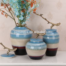 Multifunctional home decorative glass vases for home decoration for wholesales