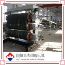 Línea de máquina de producción de extrusión de láminas de PVC con Ce (SJSZ)