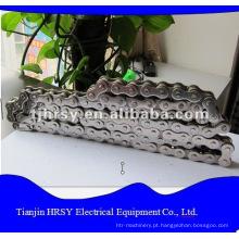Corrente de rolos de aço inoxidável 06B-32B