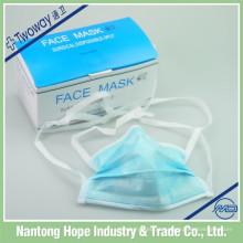 máscara facial do hospital