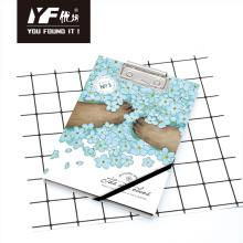 Custom cartoon style A5 clipboard with notebook