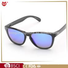 Hot Sale Bright Frame Mirrored Fashion Sunglasses Women