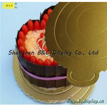Placas populares da pastelaria do bolo de Europa, placa do bolo, Ckae Drums com GV (B & C-K058)