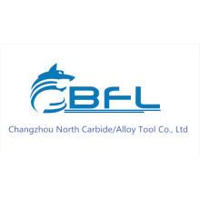 Escariador de taladro del carburo de tungsteno de BFL para la máquina TiSiN del CNC cubierta