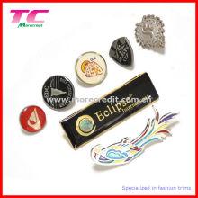 Broche en métal personnalisée avec émail coloré