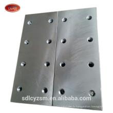 accessoires d'ascenseur rail de guidage plaque de poisson