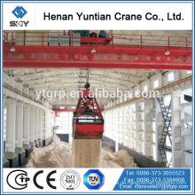 20 Tonnen Doppelträger Grapple Overhead Bucket Crane