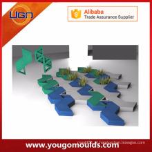 Modelos bonitos de prototipagem rápida de molde de plástico para pavimentação