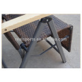 Cadeira dobrável de bambu do dobramento da cadeira do dobramento para relaxar