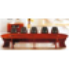 Especificações da mesa de conferência dobrável oval de madeira