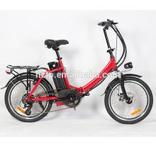 20'' alloy frame fashion pedal assisted chopper bike folding electric bikes chopper bikes