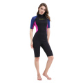 Seaskin 3mm Women Shorty Wetsuit For Scuba