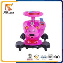Carro novo do balanço das crianças da forma com assento para pés especial na venda