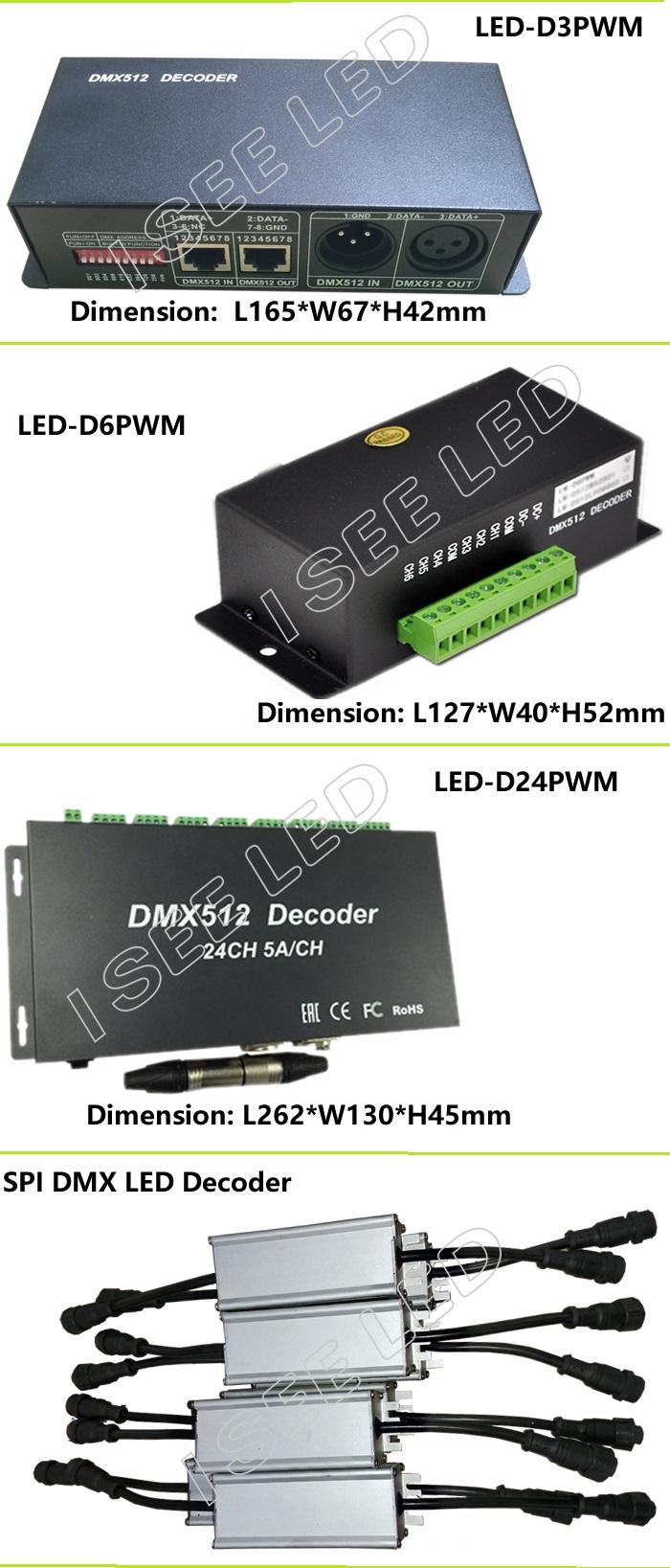 DMX512 LED Driver