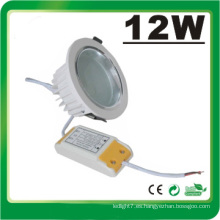 Lámpara LED Dimmable 12W LED Down Luz LED
