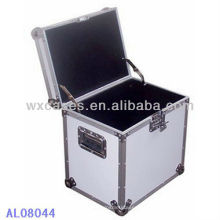 caja de aluminio fuerte y portátil con forro interior de EVA