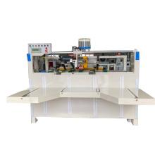 Semi-auto folder gluer machine for cartons