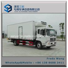 Dongfeng Kingrun 10t 6.4m Van Kühlschrank LKW