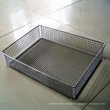 Metal Showing Basket for Supermarket