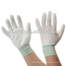Anti Static ESD Seamless Knit Glove/PU Coated Nylon Glove