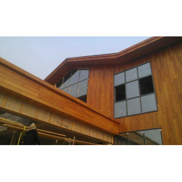 Nature Red Cedar Panel for Exterior Wall Cladding