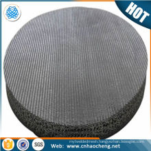 0.5 10 15 20 micron stainless steel sintered filter disc for oil water filter