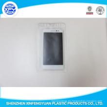 Bolsas de plástico transparente de PVC con agujero colgante