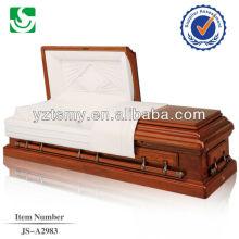 Simplifiée à la mode mat personnalisé peint cercueil