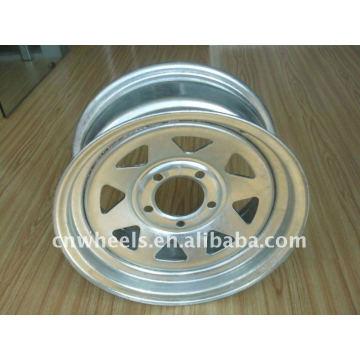 Utilitário pequeno reboque jantes, reboque de roda 12X4,12X4.5,12X5.5,16x6